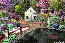 Garden design:House and Garden