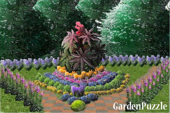 Small English Garden Gardenpuzzle Online Garden