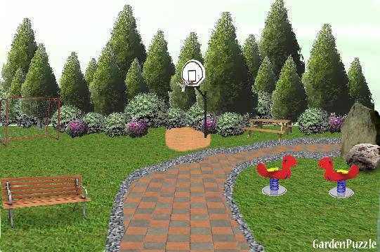 Playground park gardenpuzzle online garden planning tool for Online garden planning tool