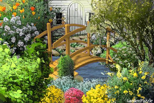 Fairytale Garden Gardenpuzzle Online Garden
