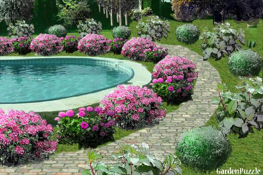 Garden Design Garden Design with cottage rose garden GardenPuzzle