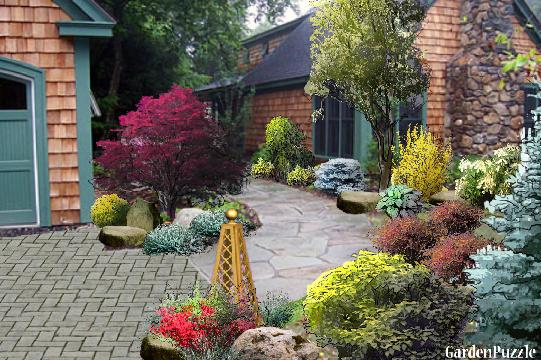 Pacific Northwest Gardenpuzzle Online Garden Planning Tool