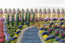 Garden design:isabella