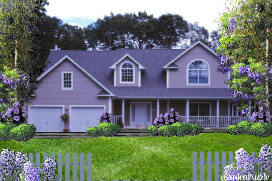 Purple House Gardenpuzzle Online Garden Planning Tool