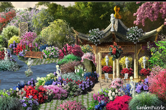 Meditation garden gardenpuzzle online garden planning tool for Meditation garden designs