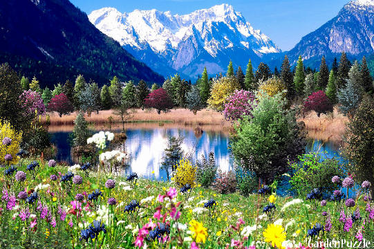 sun, rays, Spring, Mountains - Beautiful views wallpapers: 2560x1440