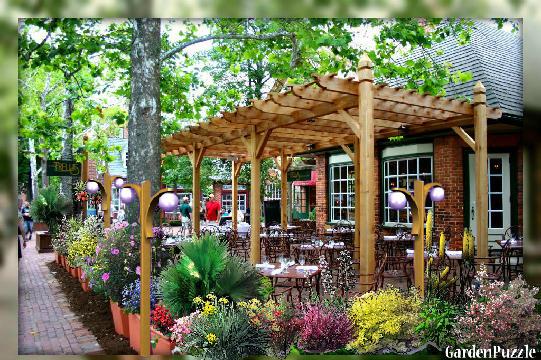 Garden Designoutdoor Cafe Spring
