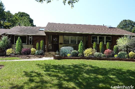 Garden Design Front Of House Home Design
