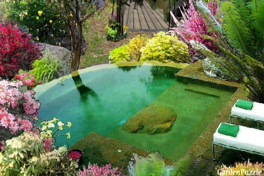Garden design:Temptation.