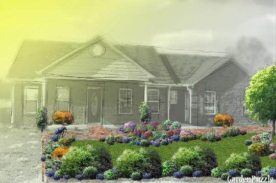 Semi drought tolerant front yard gardenpuzzle online for Drought resistant grass crossword clue