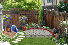 Superb Garden Ideas For A Corner : Corner Gardenpuzzle Online Garden Planning Tool